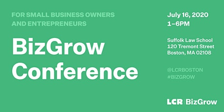The BizGrow Conference 2020 tickets