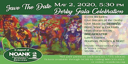 Noank Community Support Services: Kentucky Derby Gala Fundraiser