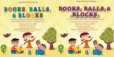 Books, Balls, & Blocks - Montgomery, AL tickets