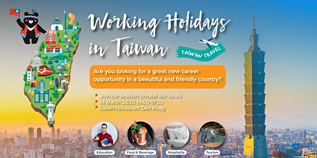 Working Holiday in Taiwan ─ Free Information Session (Dutch only) tickets