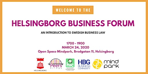 Helsingborg Business Forum #5 - Swedish Business Law