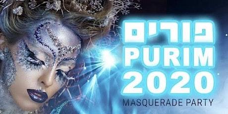 Purim Masquerade 2020 tickets