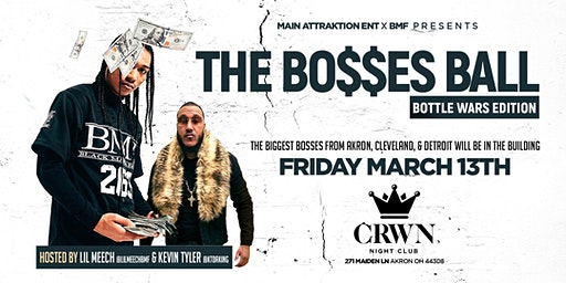 THE BOSSES BALL w/ LIL MEECH BMF Live @ CRWN Nightclub