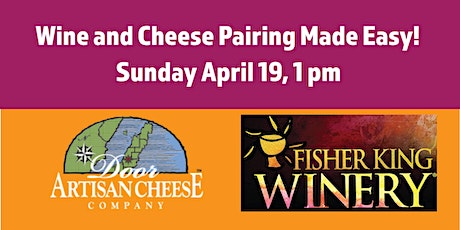 Door County Cheese Comes to Madison! (Wine & Cheese Pairing Class) tickets