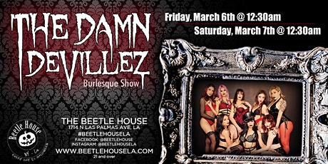 Damn Devillez Burlesque Show (Friday Night Show) tickets