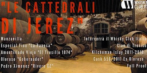 """Degustazione Sherry """"Le Cattedrali di Jerez"""""""