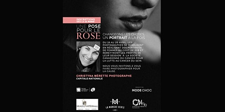 Christyna Mérette Photographe/Une pose pour le rose 2020/Capitale-Nationale billets