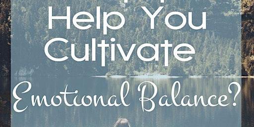 Cultivating Emotional Balance