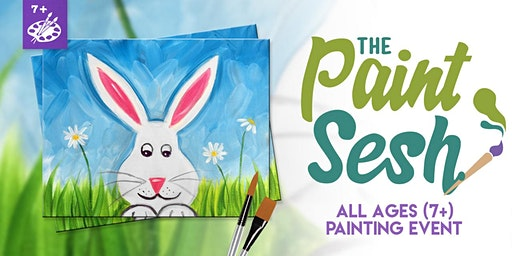 All Ages (7+) Painting Event in Norco, CA: Spring Bunny