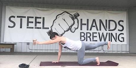 Brunch Yoga   Steel Hands Brewing tickets