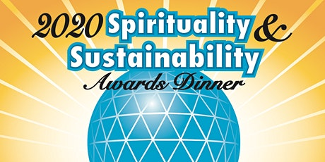 2020 Spirituality & Sustainability Leadership Awards Dinner tickets