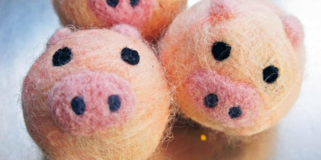 Felted Pig soap making class! tickets