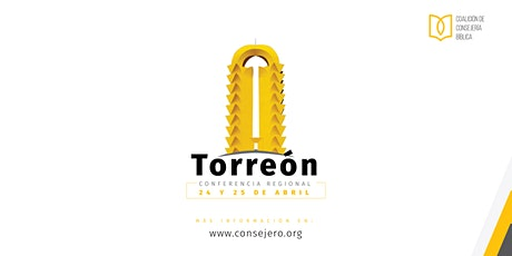Conferencia Regional Torreón 2020 - CB boletos