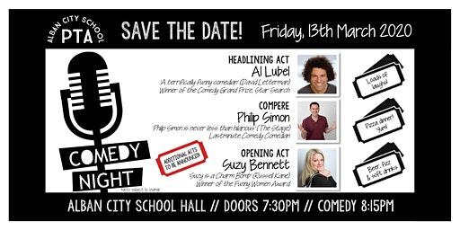 Alban City School PTA Comedy Night