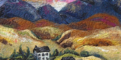 POSTPONED Discover the Beauty of Wet Felted Landscapes with Fay Hodson tickets