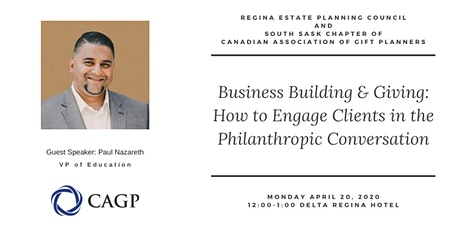 Business Building & Giving: How to Engage Clients in the Philanthropic Conversation tickets