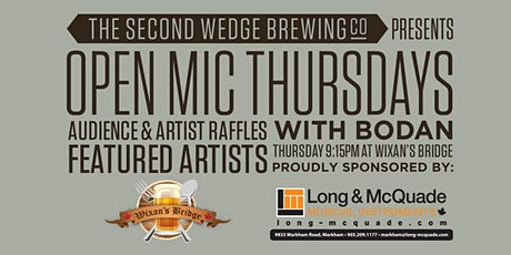 Open Mic Thursdays at Wixan's Bridge tickets