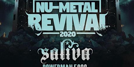 Nu-Metal Revival Tour 2020 featuring Saliva w/ Powerman 5000, Adema, Flaw & Andrew W. Boss tickets