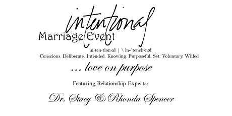 Intentional Marriage Event... Love On Purpose tickets