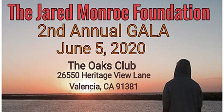 The Jared Monroe Foundation  GALA 2020 tickets
