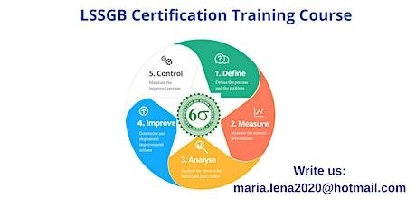 LSSGB Classroom Training in Blue Jay, CA tickets