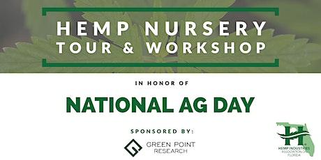 National Ag Day: Hemp Nursery Tour & Workshop tickets