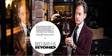RIEDEL Wine Workshop at Bed Bath & Beyond tickets