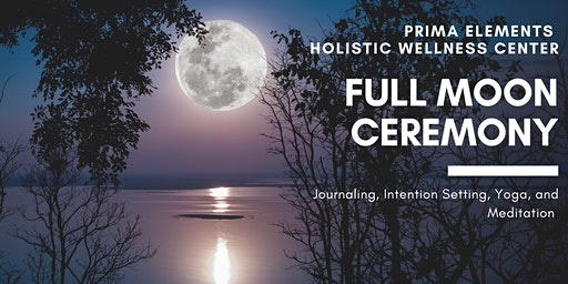 Full Moon Ceremony - Meditation & Yoga