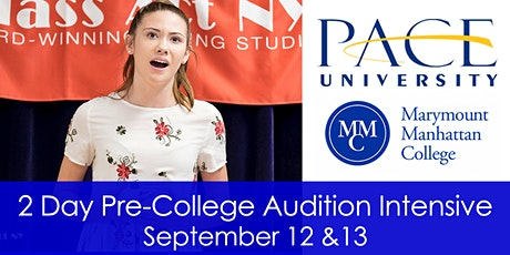College Prep Weekend Audition Intensive with College Admissions Officers tickets