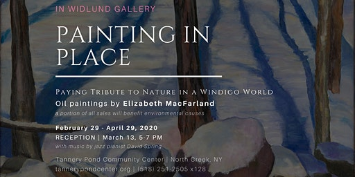 Widlund Gallery | Painting in Place, oil paintings by Elizabeth MacFarland