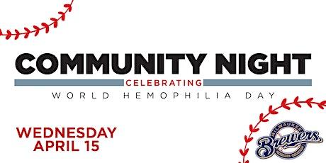 GLHF's Community Night at Miller Park tickets