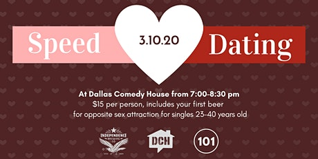 Speed Dating: Opposite Sex Attraction presented by Dallasites101 tickets
