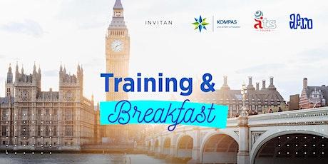 Training & Breakfast  - Reino Unido y Balcanes entradas