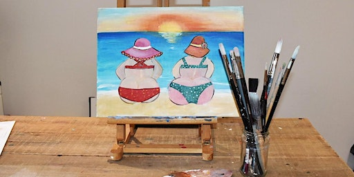 'Beach Babes' Painting  workshop & Afternoon Tea @Sunnybank - All abilities