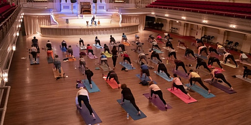 Yoga & Live Music in the Great Hall