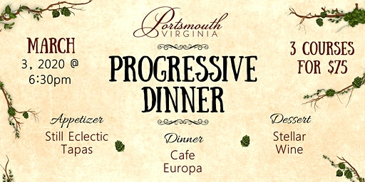 Portsmouth Progressive Dinner
