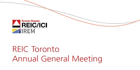 REIC Toronto Annual General Meeting tickets