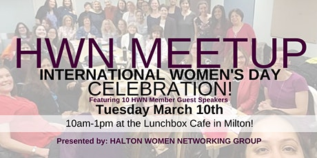 HALTON WOMEN NETWORKING MARCH 2020 MEETUP - INTERNATIONAL WOMEN'S DAY tickets