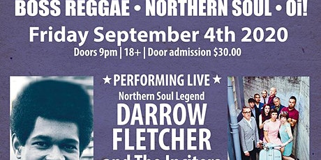 Soul Invasion - Darrow Fletcher & Inciters Live + Dj' s tickets