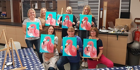 'Flamingo' Painting  workshop & Afternoon Tea @Sunnybank tickets