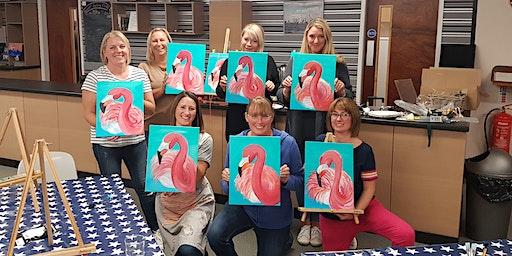 'Flamingo' Painting  workshop & Afternoon Tea @Sun