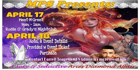 MPS Presents ~ A Sexy & Seductive Aries Diamond Affair tickets