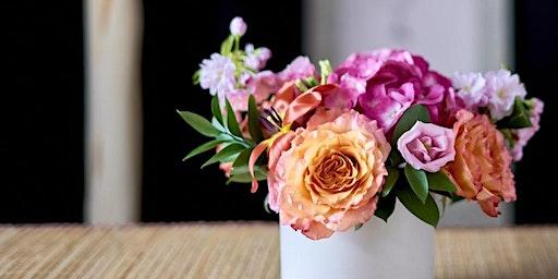 Brackets & Blooms: A Floral Workshop at Five & Dime!