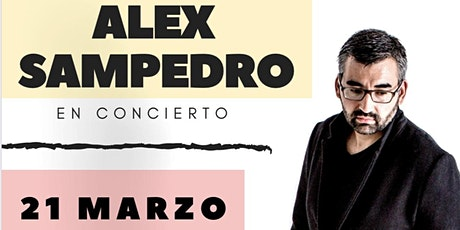 Álex Sampedro viene a Zaragoza este 21 de Marzo de 2020. ¡No te lo pierdas! entradas