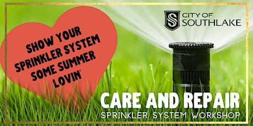 Care & Repair DIY Sprinkler Quick Fixes