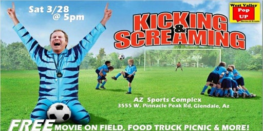 Az Sports Complex PopUP Food Truck Movie Night and MORE! Sat 3/28