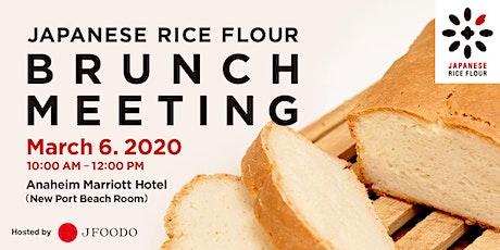 Japanese Rice Flour Brunch Meeting tickets