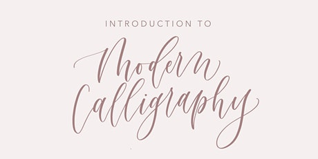 Intro to Modern Calligraphy @ Home on Haddon in Haddonfield, NJ tickets