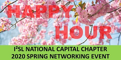 I2SL NCC  2020 SPRING NETWORKING - HAPPY HOUR EVENT  tickets