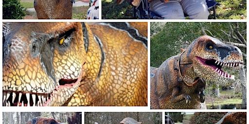 Hands-on, interactive, dinosaur encounter @ Crosswind Farm